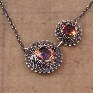 Double Spiro Necklace