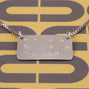 Braille Pendant