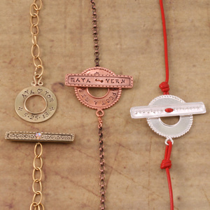 Personalized Toggle Clasps