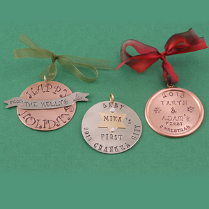 Holiday Ornaments / Gift Tags
