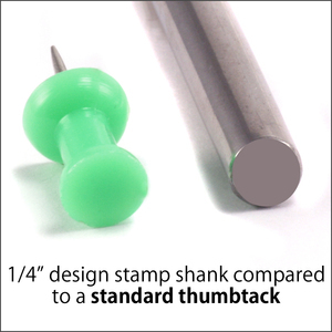 Metal Stamping Tools Lightning Bolt Design Stamp