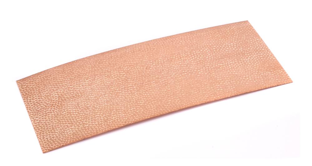 """Wire & Sheet Metal Patterned Copper 24g Sheet Metal, Lizard, 2.5"""" x 6"""""""