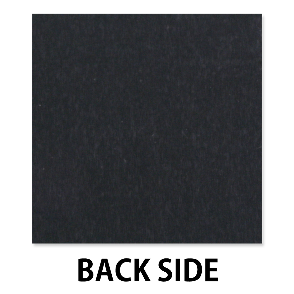 "Anodized Aluminum Sheet, 3"" X 3"", 22g, Design T - Black"