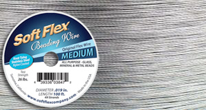 Rivets,  Findings & Stringing .019 Clear Soft Flex Beading Wire