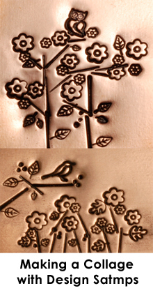 "Metal Stamping Tools Elm Leaf Design Stamp 1/8"" (3.2mm)"