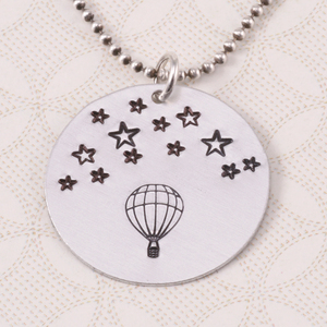 Metal Stamping Tools Hot Air Balloon Metal Design Stamp, 9mm - Beaducation Original