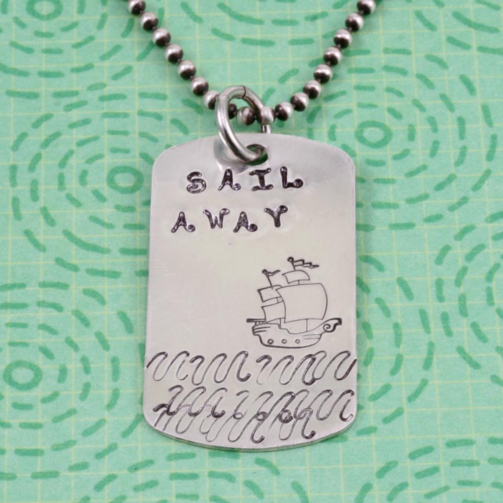 Metal Stamping Tools Pirate Ship Metal Design Stamp- Beaducation Original