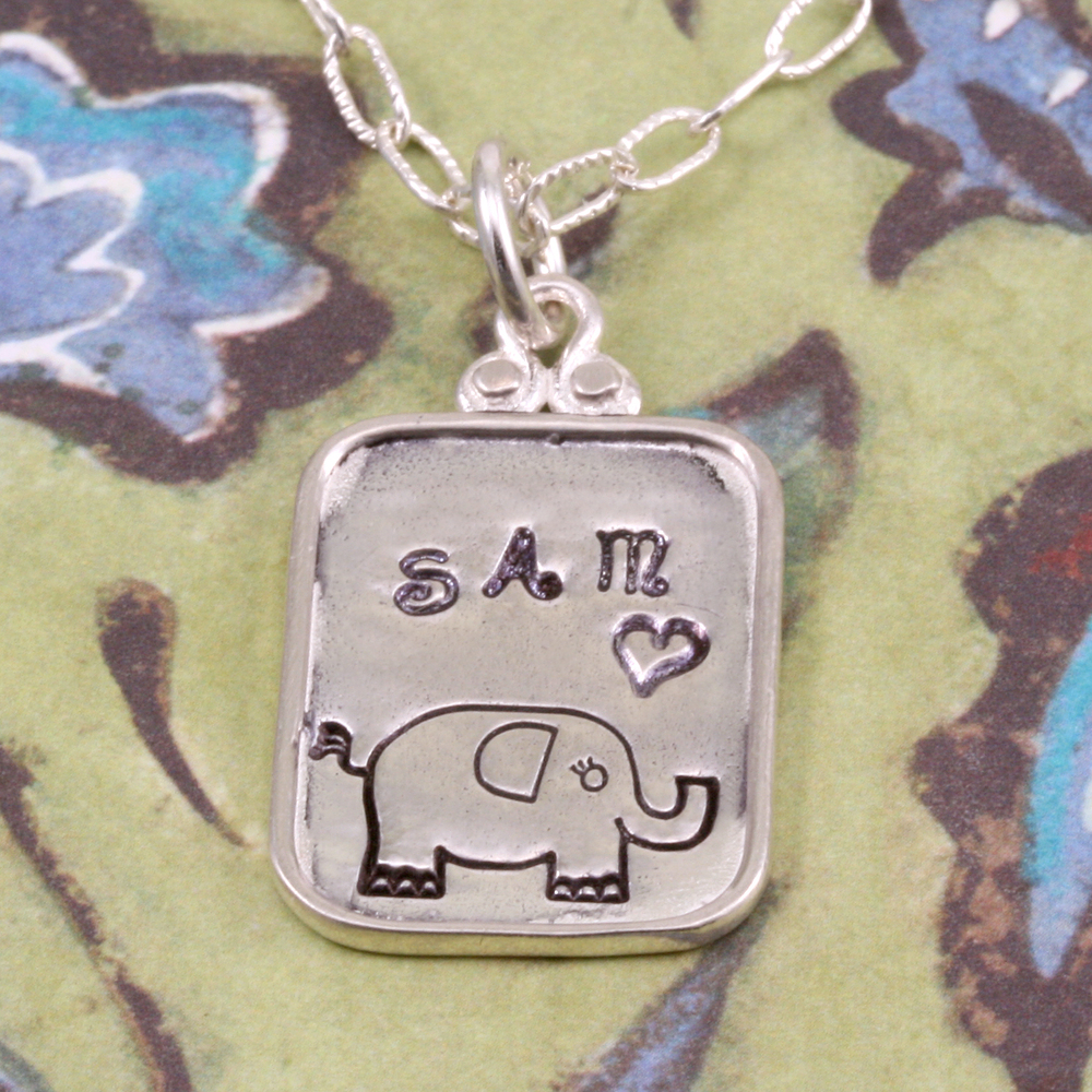 Metal Stamping Tools Elephant Design Stamp - Beaducation Original