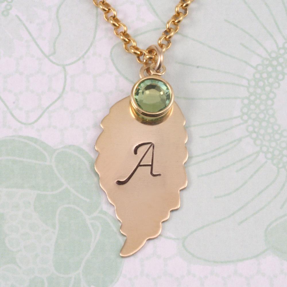 Metal Stamping Blanks Copper Leaf with Top Loop Blank, 24g