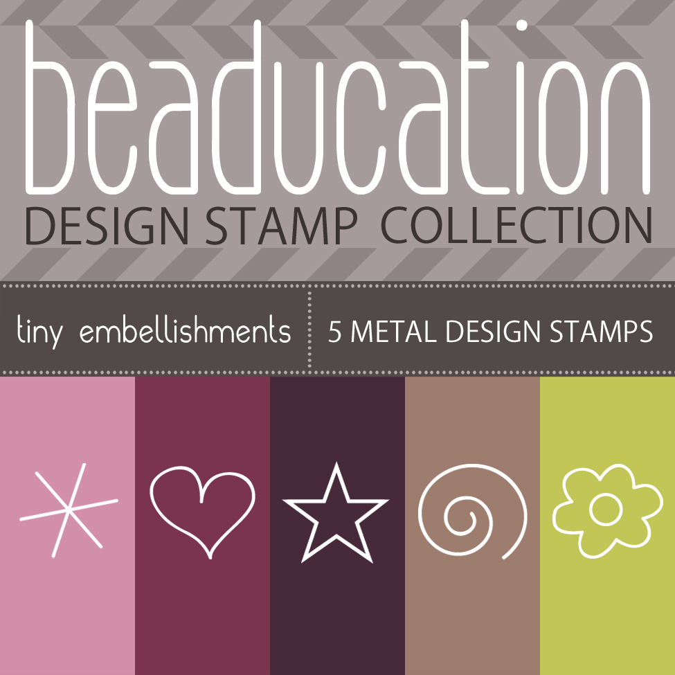 Metal Stamping Tools Beaducation Metal Design Stamp Kit: Tiny Embellishments