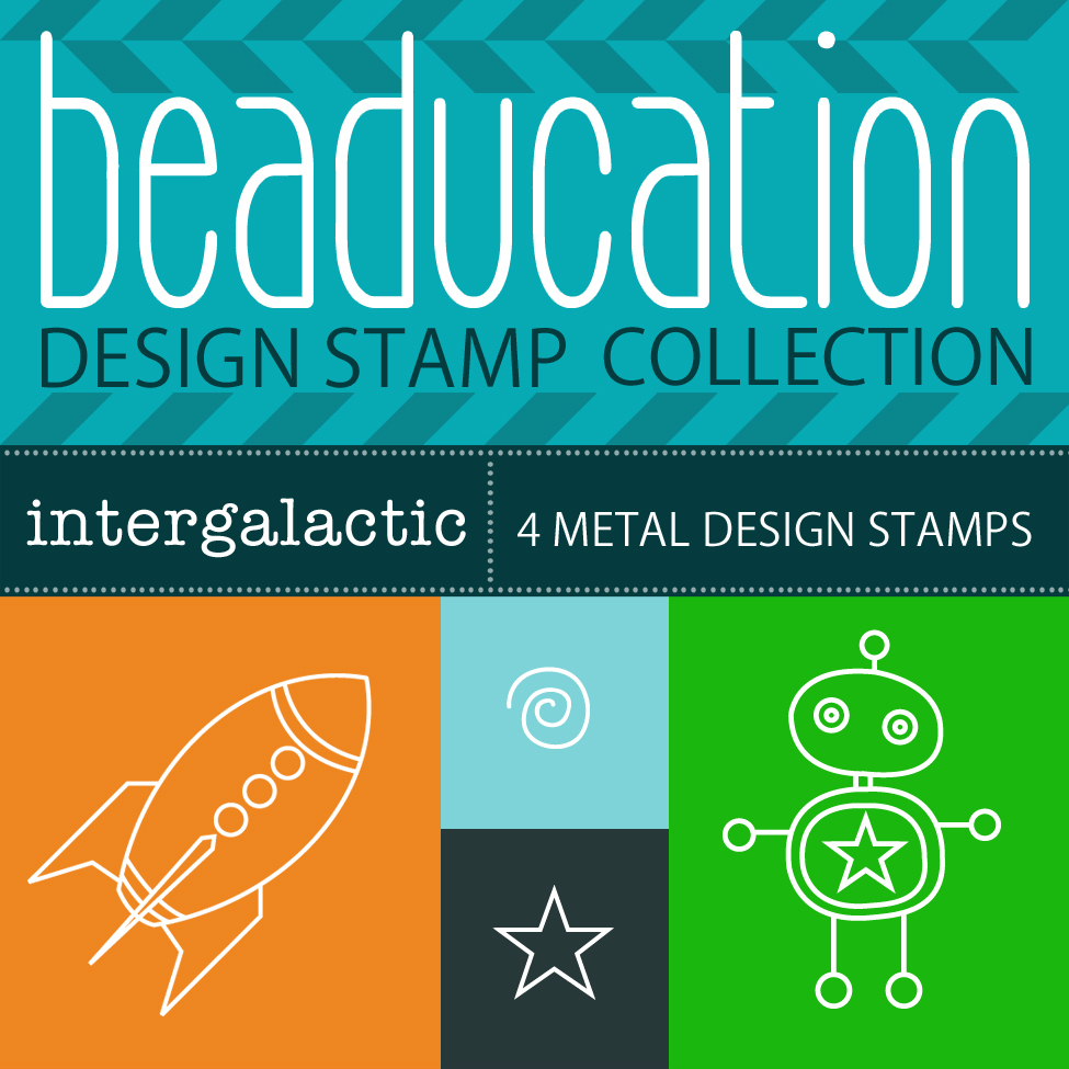 Metal Stamping Tools Beaducation Design Stamp Collection: Intergalactic