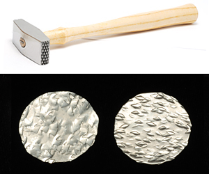 Jewelry Making Tools Double Faced Texture Hammer Star/Hatch
