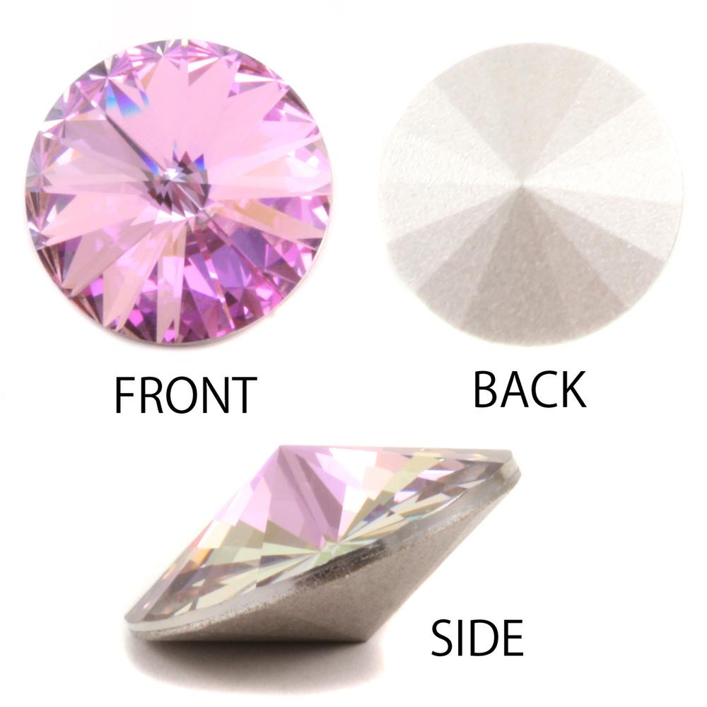 Crystals & Beads Swarovski Crystal Rivoli - Light Vitrail 18mm