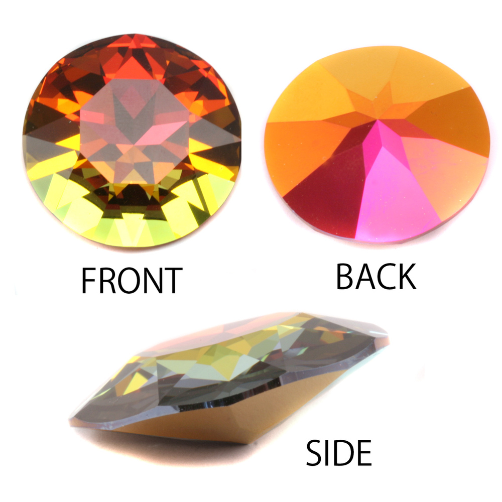 Crystals & Beads Swarovski Crystal - Volcano 27mm