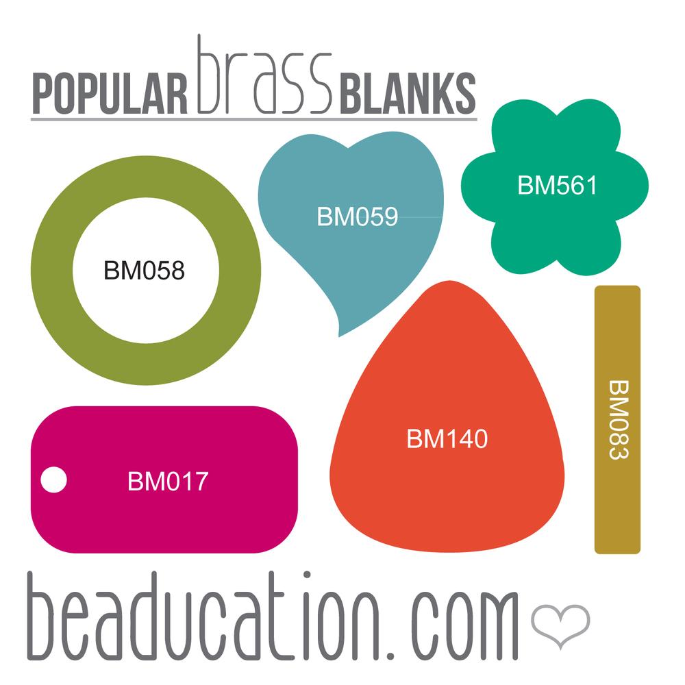 Kits & Sample Packs Brass Popular Blanks Sample Pack