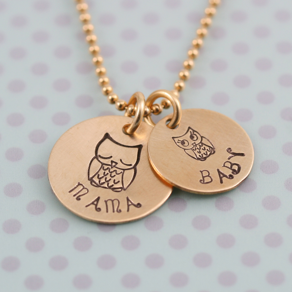 Metal Stamping Tools Sleepy Owl Metal Design Stamp- Beaducation Original