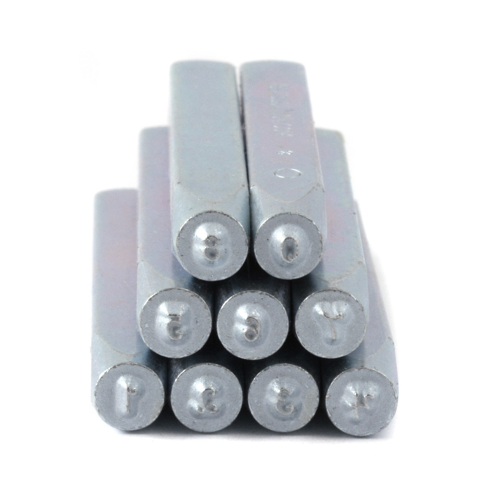"Metal Stamping Tools Beaducation Kismet Number Stamp Set 3/32"" (2mm)"