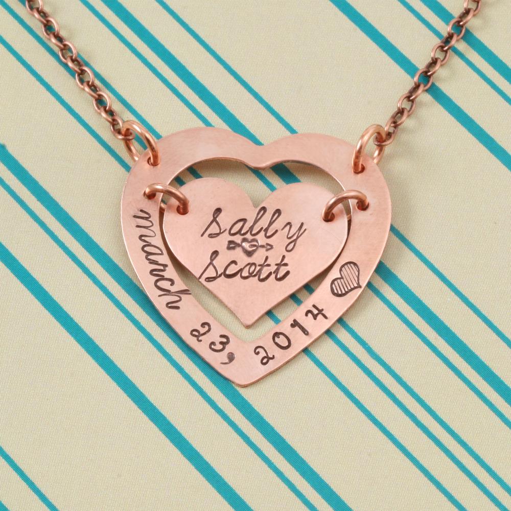 Metal Stamping Blanks Brass Large Heart Washer, 24g