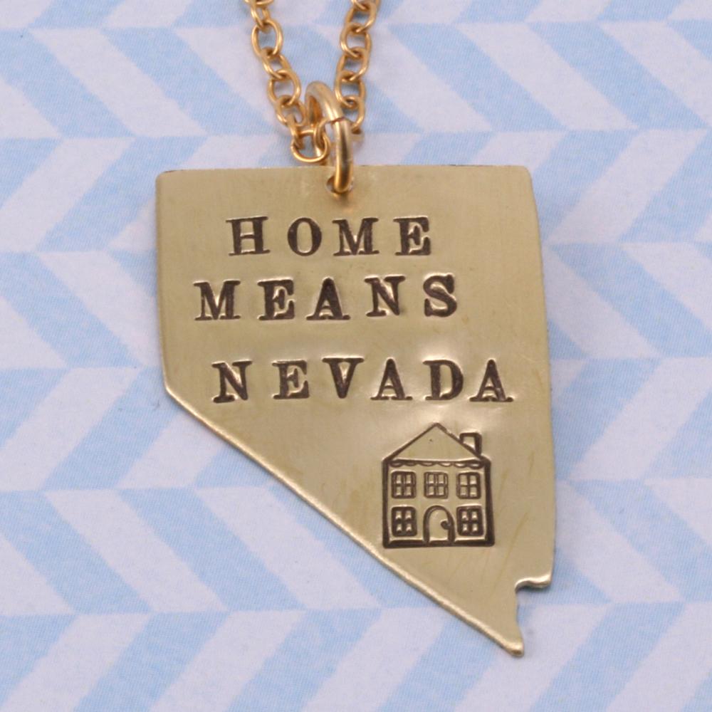 Metal Stamping Blanks Brass Nevada State Blank, 24g
