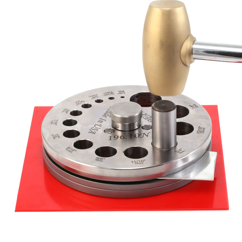 Jewelry Making Tools 14 Hole Disc Cutter - Pepetools