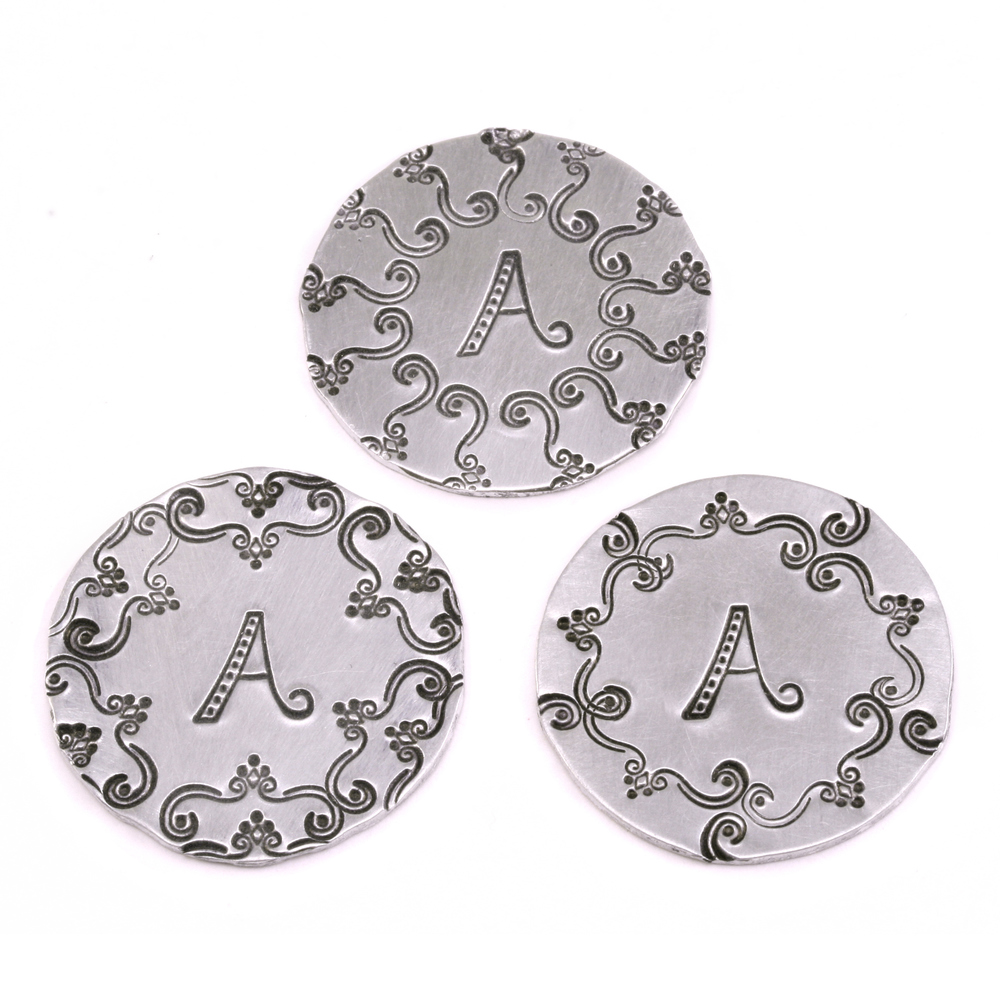 "Metal Stamping Tools Kismet Letter ""A""  7mm - Beaducation Original"