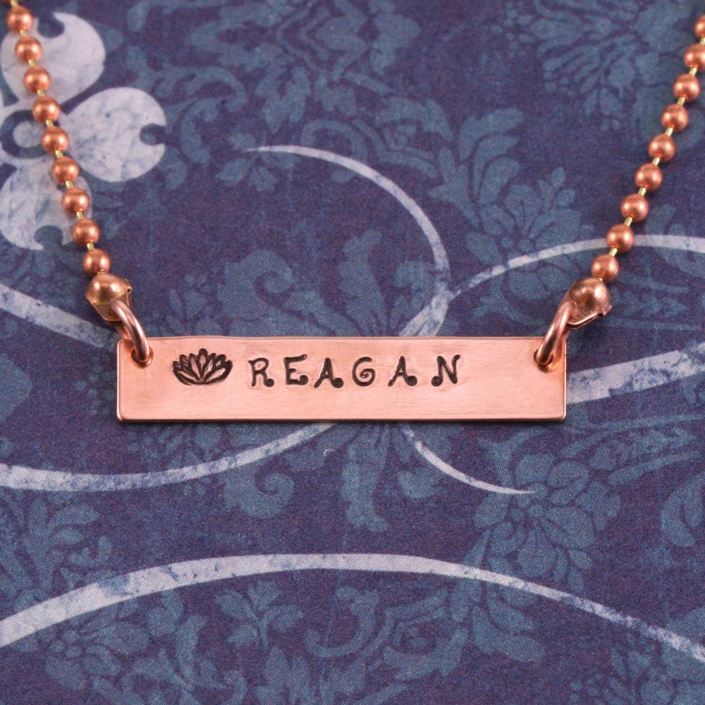 """Metal Stamping Blanks Brass 1.25"""" Rectangle Bar, 24g"""