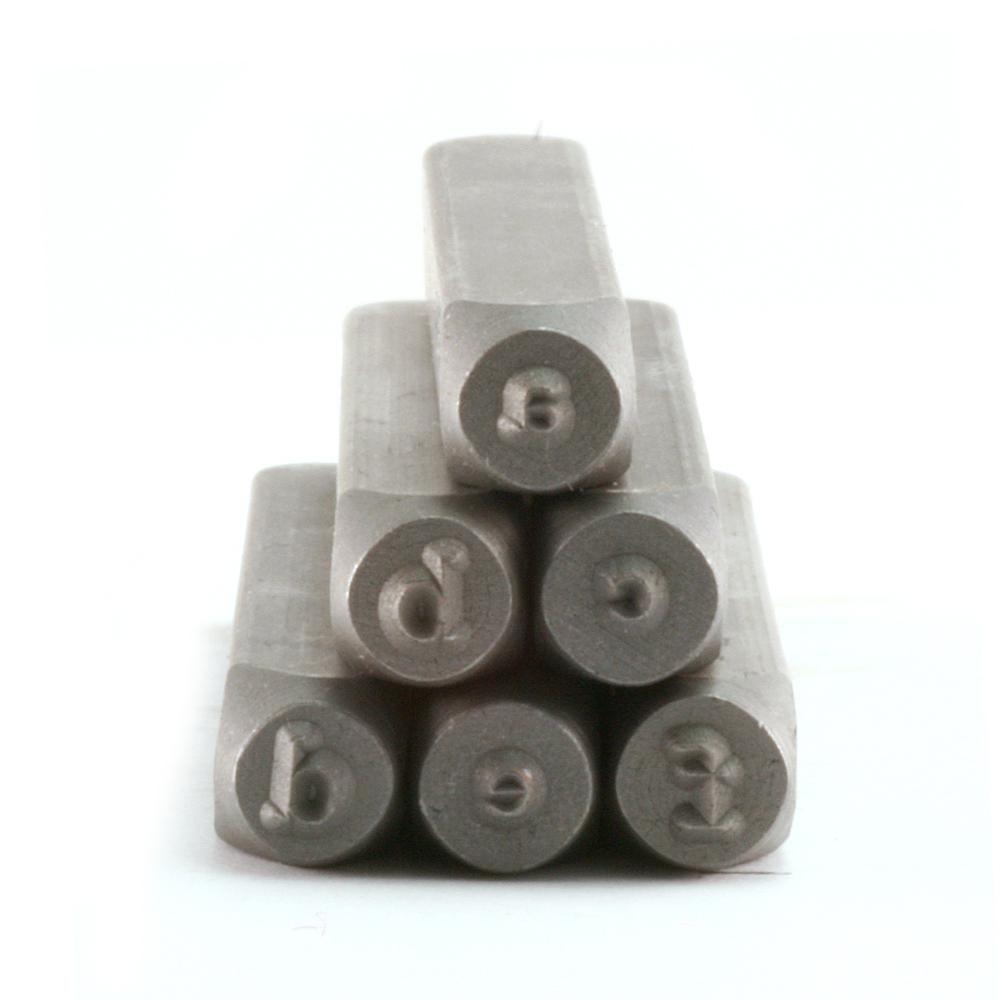 Metal Stamping Tools Typewriter Lowercase Letter Stamp Set (3.2mm - 2.2mm)