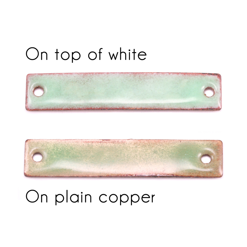 Enamel & Mixed Media Peppermint Green Transparent - Thompson Enamel #2310