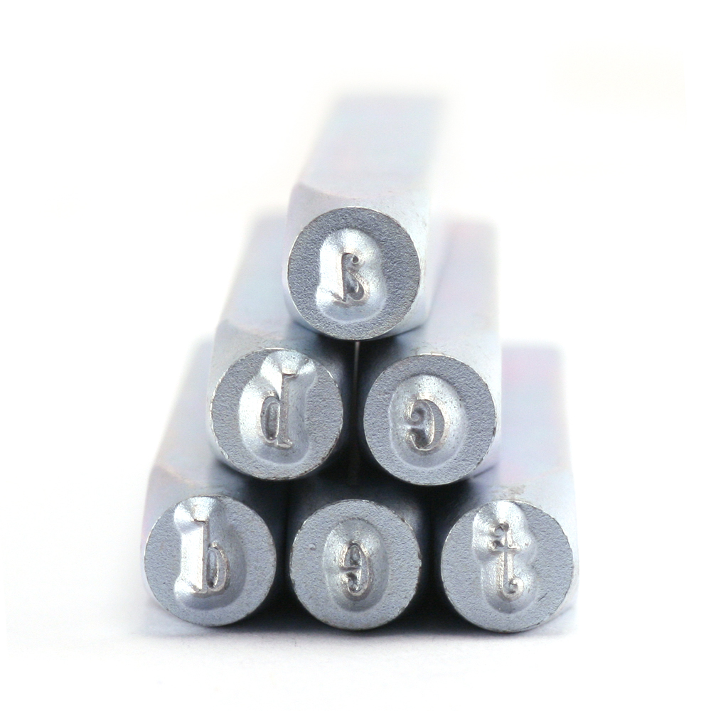 """Metal Stamping Tools Beaducation Wackadoodle Lowercase Letter Stamp Set 1/8"""" (3.2mm)"""