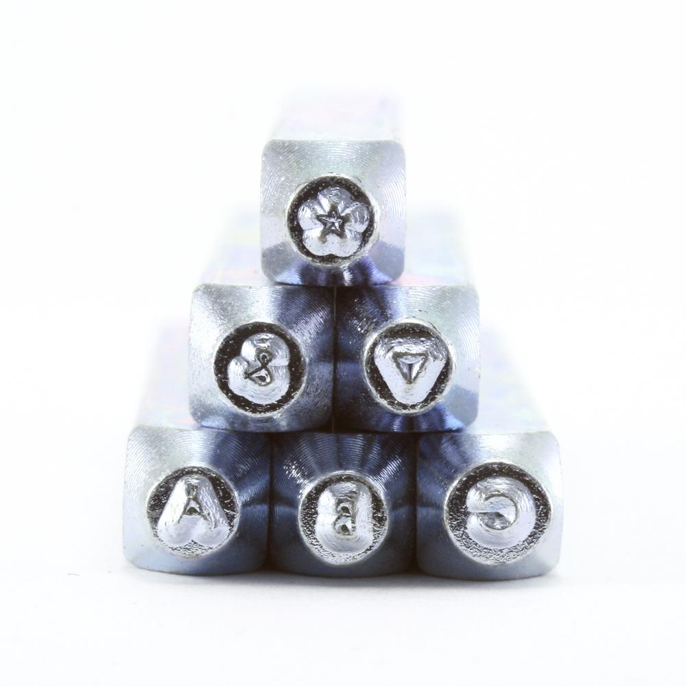Metal Stamping Tools ImpressArt Deco Uppercase Letter Set 1.5mm
