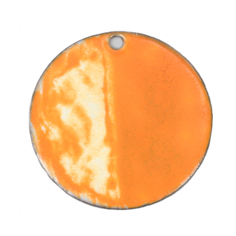 Enamel & Mixed Media Orange Acrylic Enamel Paint- Thompson Enamel 1/3 fluid oz