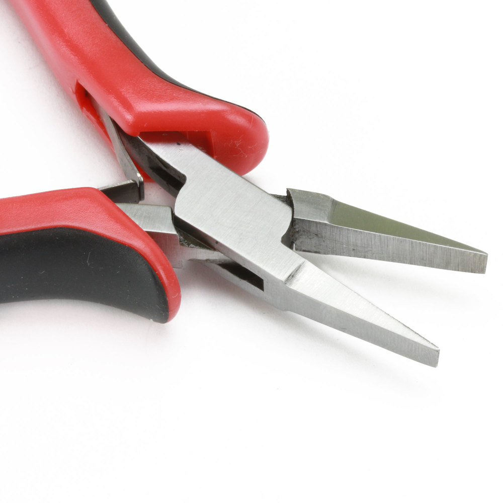 Jewelry Making Tools German Flat Nose Pliers With Ergonomic Handle