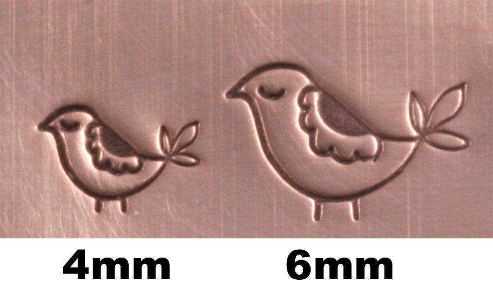 Metal Stamping Tools Mama Partridge (6mm) Metal Design Stamp-Beaducation Original