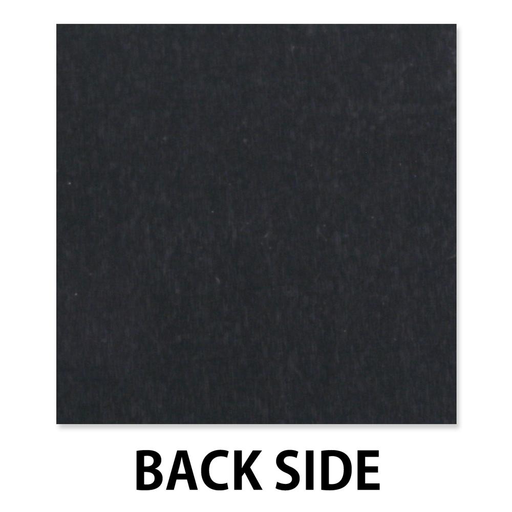 "Anodized Aluminum Sheet, 3"" X 3"", 22g, Design D - BLACK"