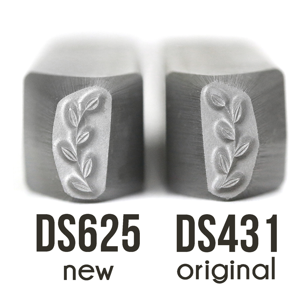 Metal Stamping Tools Garden Branch Border Metal Design Stamp-Beaducation Original (Right Facing)