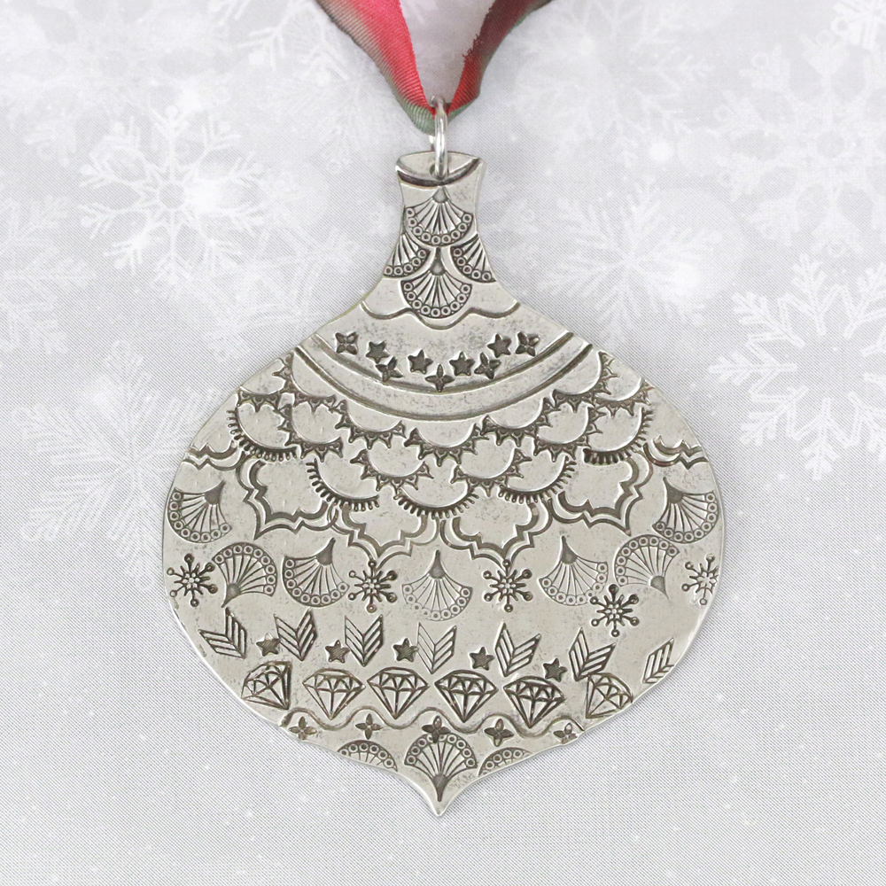 "Metal Stamping Blanks Pewter Ornament Ball Stamping Blank, 66mm (2.6""), 16g"