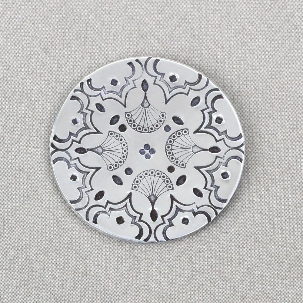Metal Stamping Tools Solid Circle Design Stamp, 1.2mm - Beaducation Original