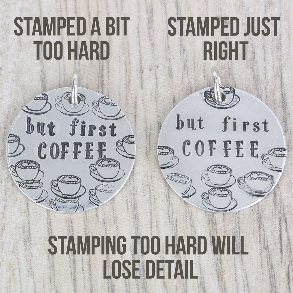 """Metal Stamping Tools Beaducation Serendipity Lowercase Letter Stamp Set 1/8"""" (3.2mm) Tapered Down Shanks"""