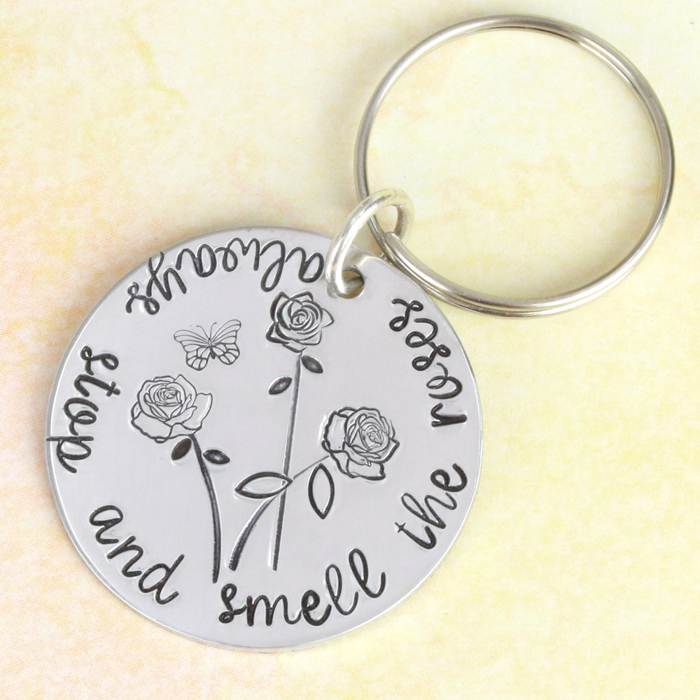 Metal Stamping Tools Rose Style 3 Flower Metal Design Stamp, 5mm by Stamp Yours - Rated for Stainless