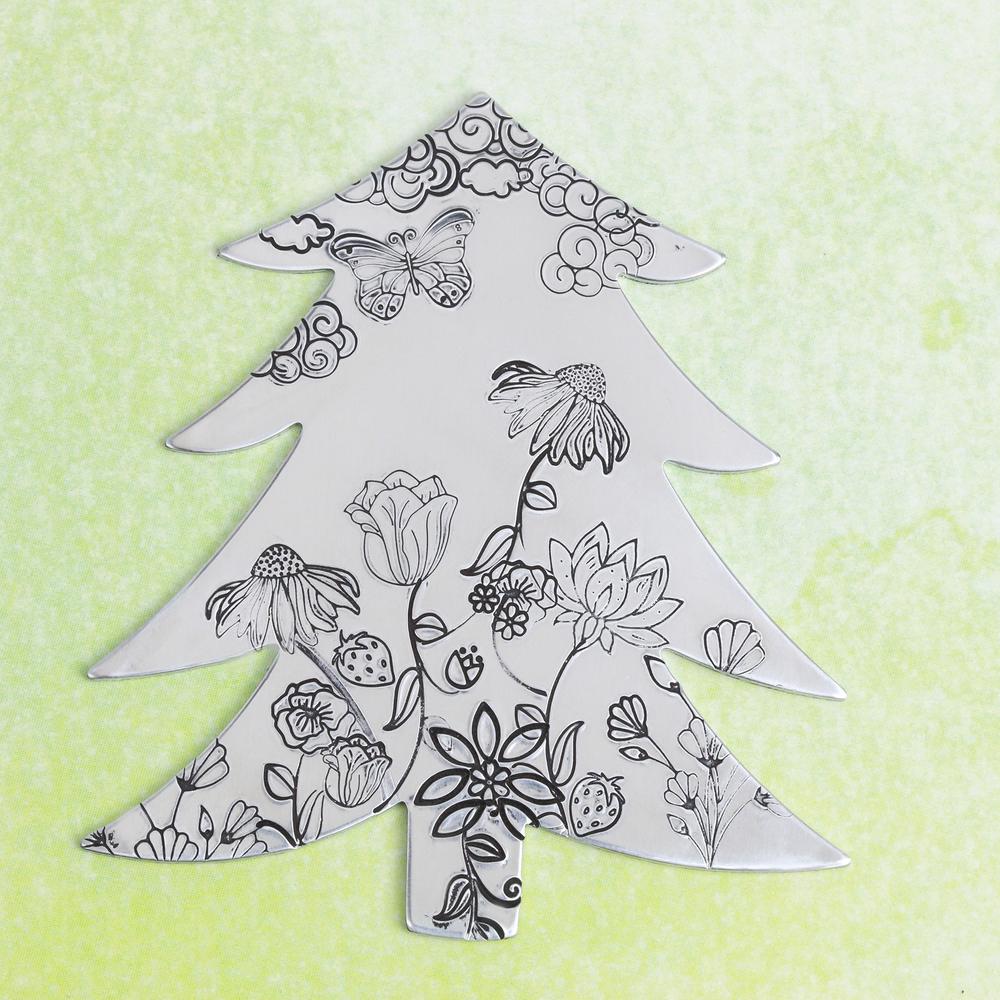 Art Nouveau Christmas Tree ✓ The Christmas Tree
