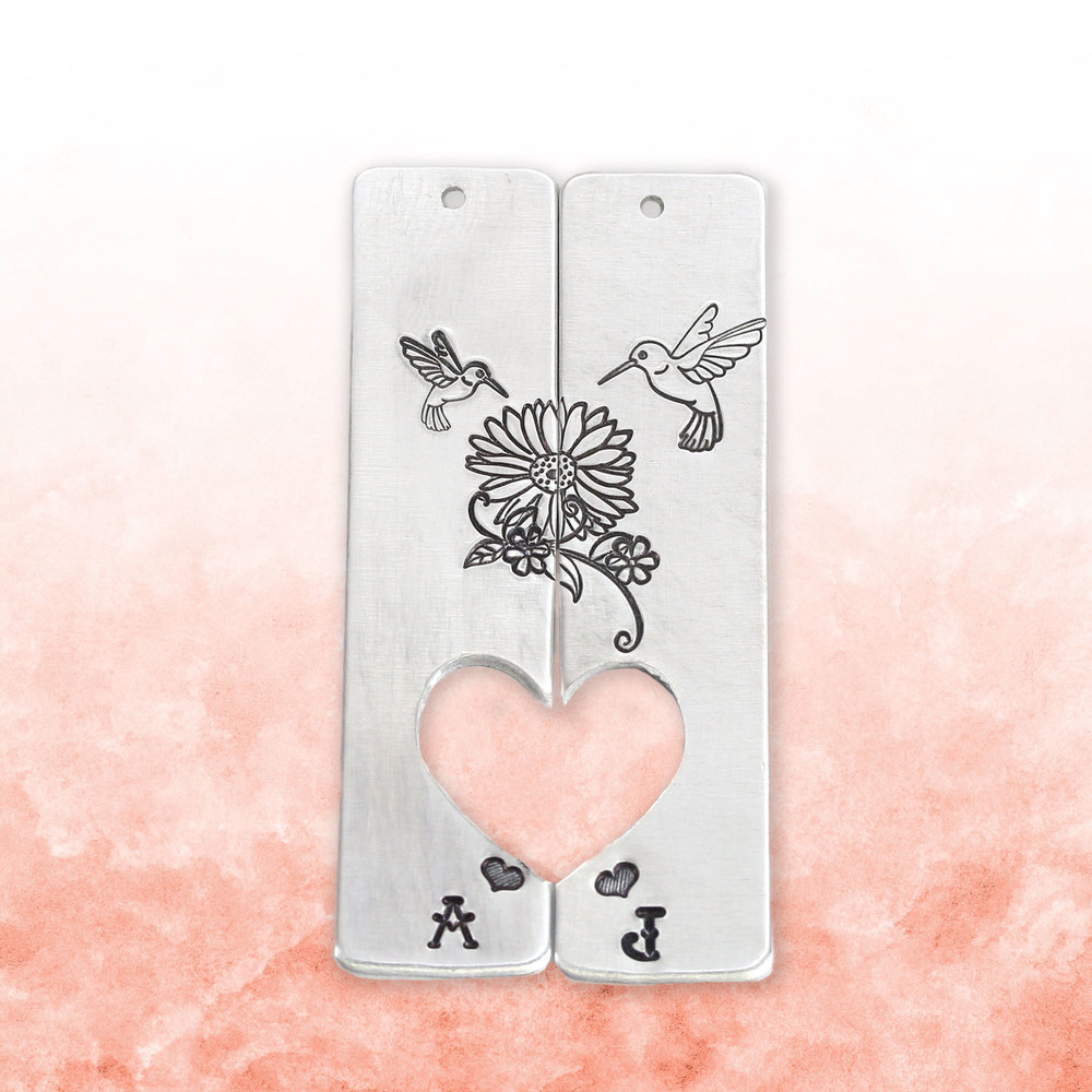 Metal Stamping Tools Hummingbird Metal Design Stamp, 8mm, Beaducation Exact Series by Stamp Yours