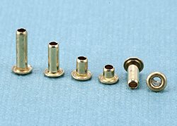Rivets,  Findings & Stringing Assorted Brass Eyelets
