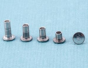 "Rivets,  Findings & Stringing Assorted Aluminum Hollow 1/16"" Rivets"