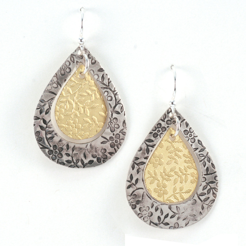 Textured_hammered_earrings