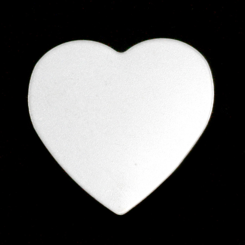 Metal Stamping Blanks Sterling Silver Large Heart, 24g