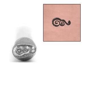 Metal Stamping Tools Spiral Wave Metal Design Stamp