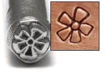 Metal Stamping Tools Retro Flower Design Stamp