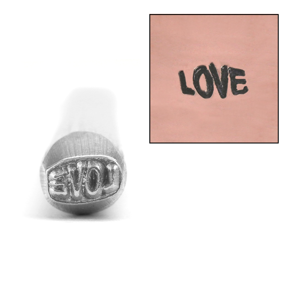 Metal Stamping Tools LOVE Metal Design Stamp