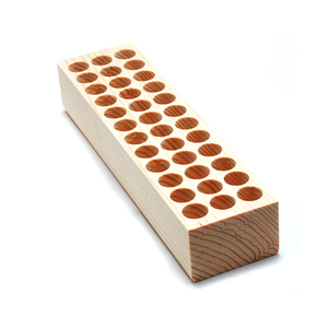 Jewelry Making Tools Design Stamp Holder, 13mm Holes, 36 Holes