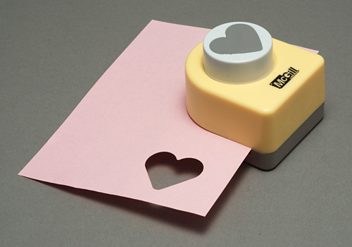 Enamel, Patina & Resin Wide Heart Paper Punch